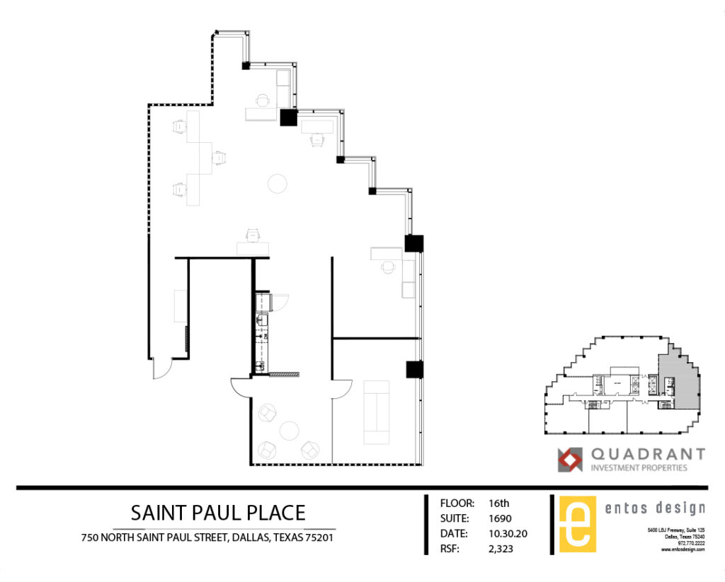 Suite 1690 Floorplan