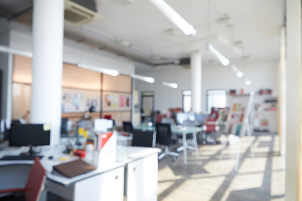 Office background - blurred and out of focus - perfect for work spaces